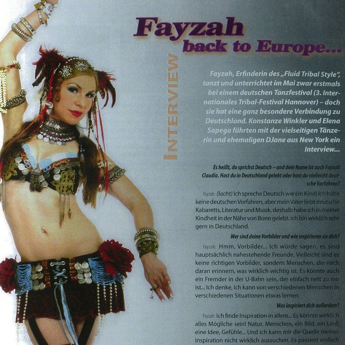 TANZ German Dance Magazine Interview