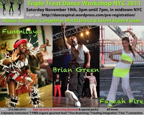 TT Workshop, Brian Green, Funmilayo, & Fayzah