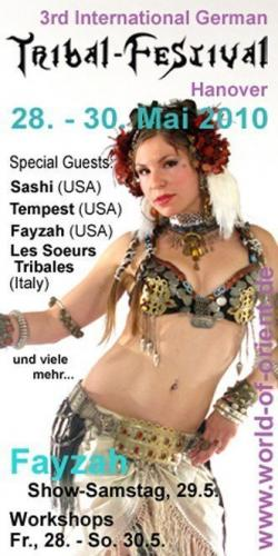 Performance and Workshops in Germany with Fayzah
