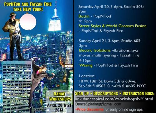 NYC Street Styles Workshops with Poppin Tod & Fayzah